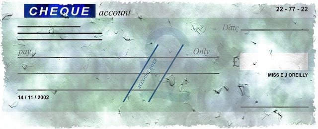 cheque de banque - account cheque